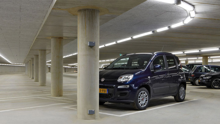 Luminaire Pacific LED GreenParking – éclairage LED pour parkings