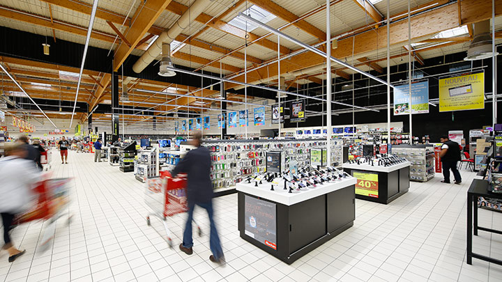 Caluire_Auchan-©Xavier Boymond - Philips Lighting